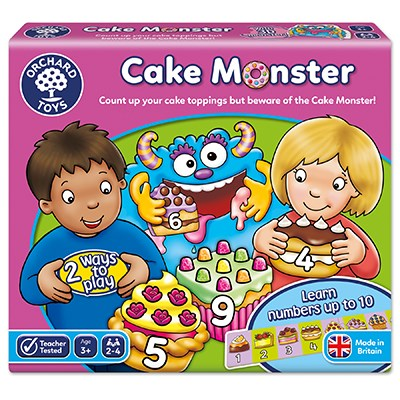 Cake Monster Game