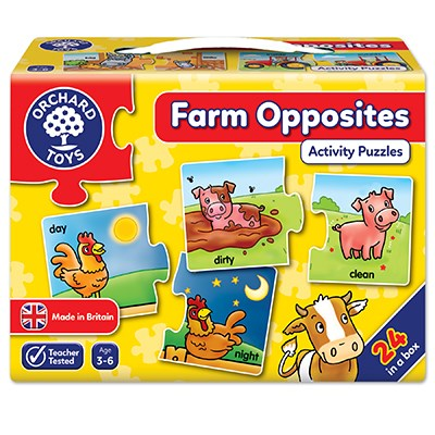 Farm Opposites Jigsaw Puzzle