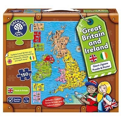 Great Britain & Ireland Puzzle