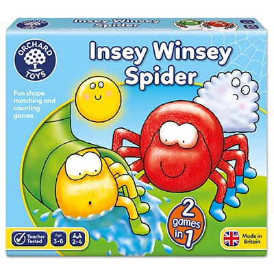 Insey Winsey Spider Game