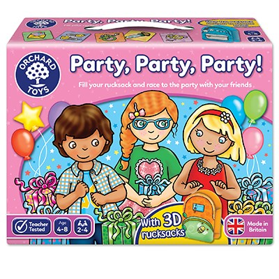 Party, Party, Party Board Game