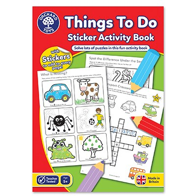Things To Do Activity Book