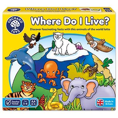 Where Do I Live Game