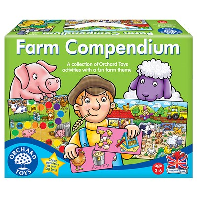 Farm Compendium - 3 Games in 1