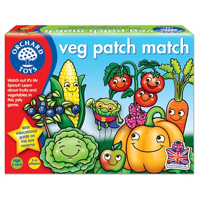 Veg Patch Match Game