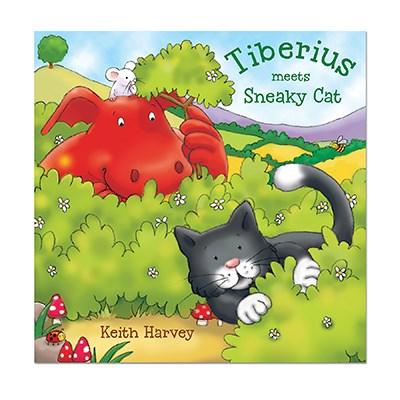 Tiberius meets Sneaky Cat
