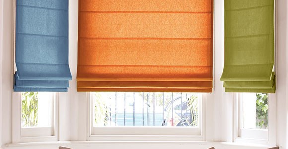 A stunning collection of stylish and practical roman blinds in a wide variety of beautiful colours