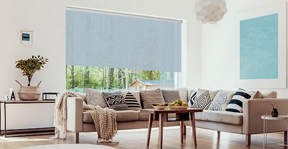 A range of Extra Large Roller Blinds in a variety of colours to suit larger windows.