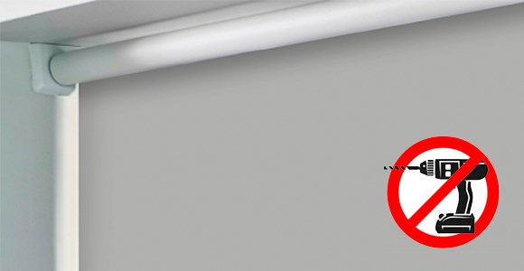 A highly practical range of blinds that can be installed without the use of a drill