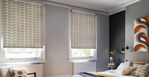 Orla Kiely blinds and Orla Kiely fabric by the metre.