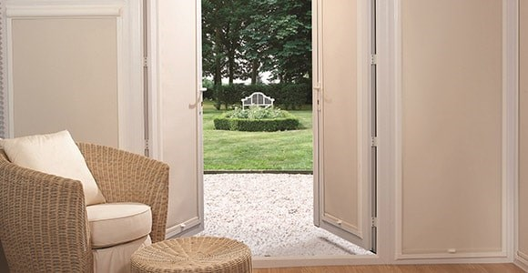 A collection of perfect fit blackout blinds with a long drop suitable for doors and tall windows.
