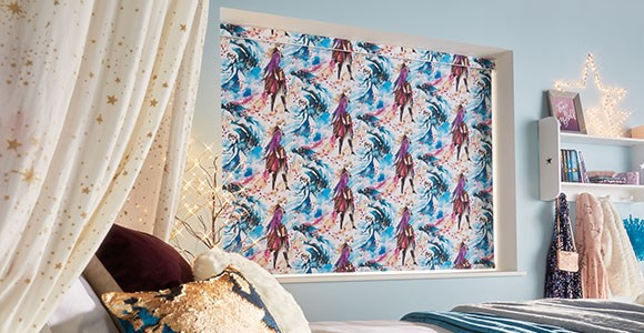 A gorgeous collection of official Disney, Pixar, Marvel and Star Wars electric blinds