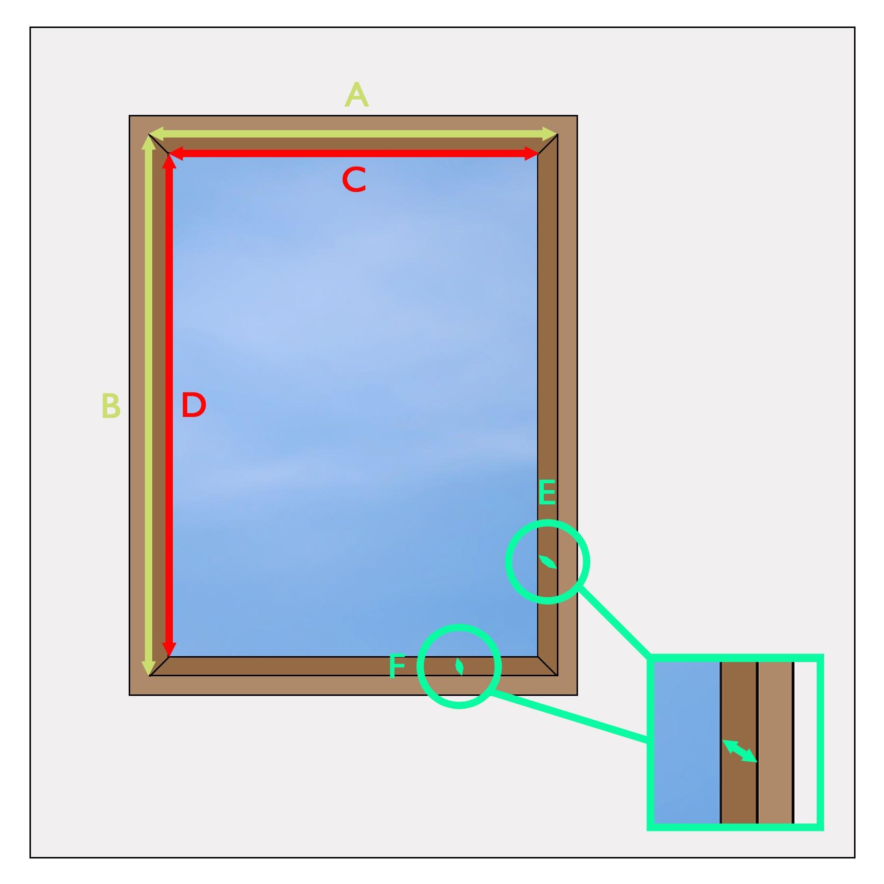 Custom skylight blind