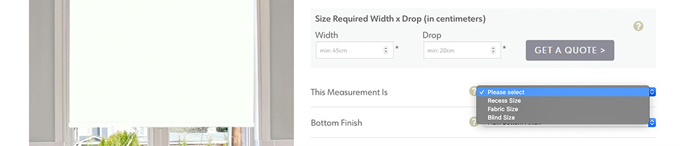 What kind of measurement are you providing?