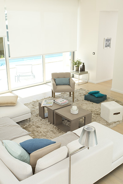A picture of Essential Electric Blinds in White