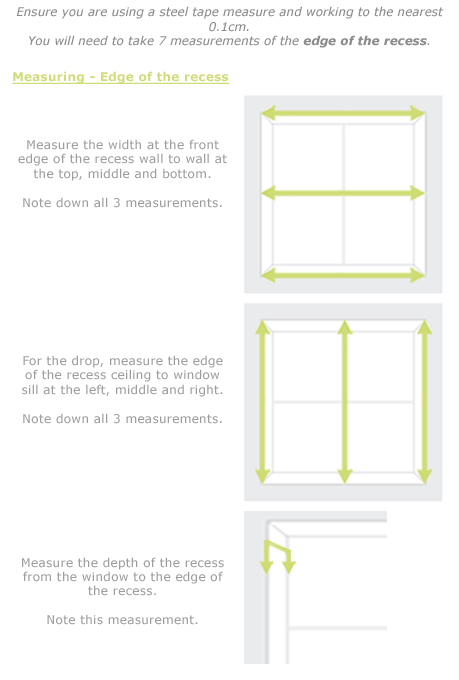 how to measure for total blackout blinds