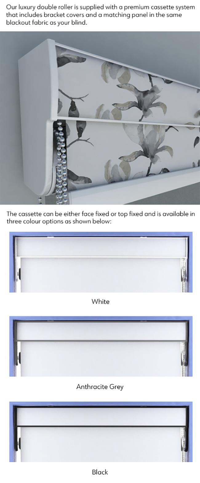 Double Bracket Luxury Roller System
