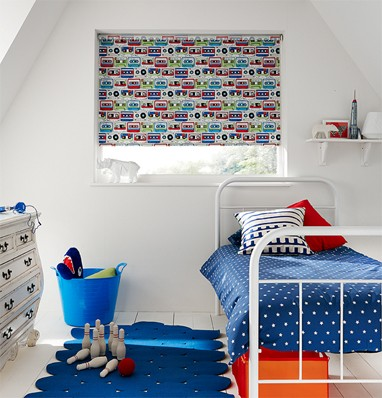 Blackout blinds for children's bedrooms