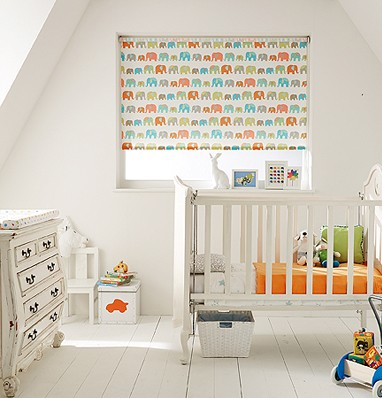 Blackout blinds for nurseries