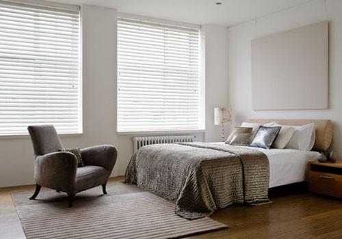 Wood venetian blinds for bedrooms