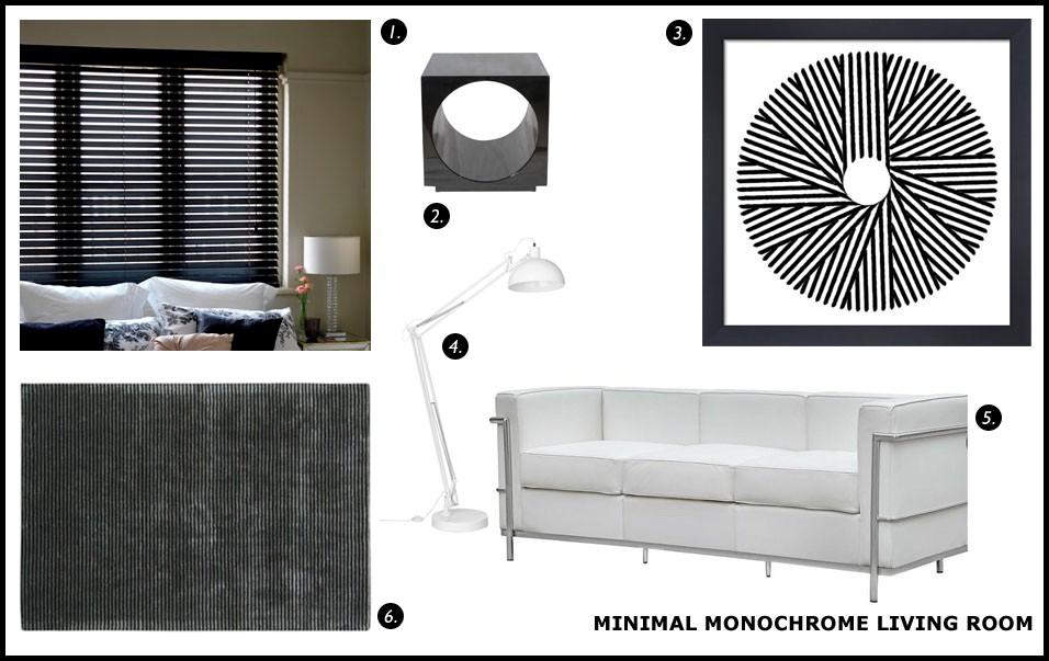 Order Blinds Loves...monochrome trend 2015