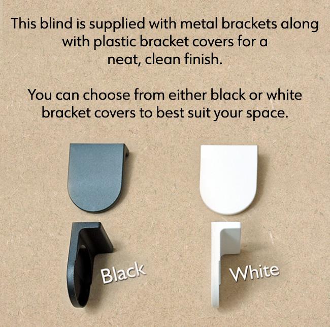 Roller Blind Bracket Colours