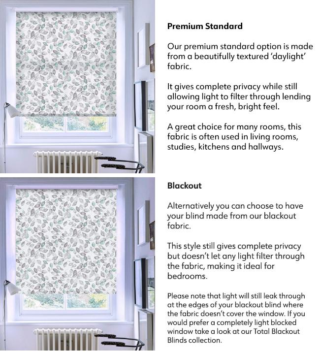 Premium Fabric Options