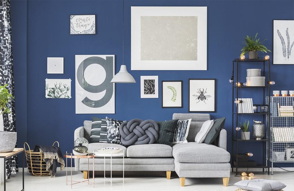 Quick Room Updates - Plants & Paintings