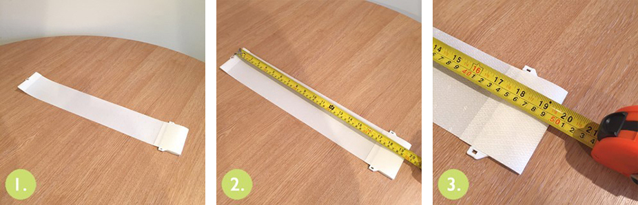 How to measure for replacement slats