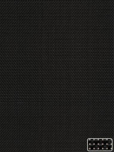 Black 3% Sunscreen Cordless Roller Blind Spring Loaded