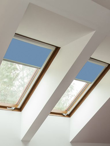 Classic Coastal Shores Blackout Skylight Blind To Fit Dakstra Windows