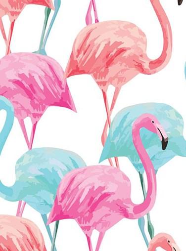 Flamingo Roller Blind