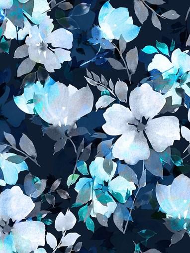 Aurelia Winter Floral Roller Blind