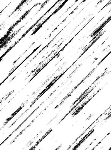 Monochrome Sketch Stripe Roller Blind