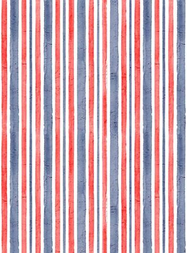Vintage Stripe Britannia Roller Blind
