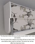 Grey and Black Luxury Double Roller Blind
