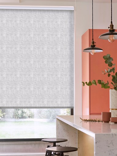 Camden Pebble Patterned Daylight Electric Roller Blind