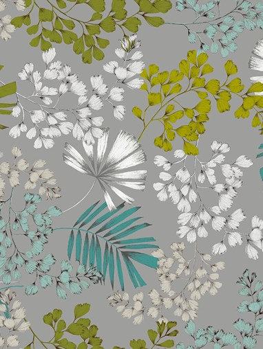Maidenhair Sky Patterned Daylight Electric Roller Blind