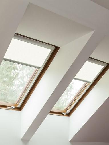 Classic White Blackout Skylight Blind For Fakro Windows