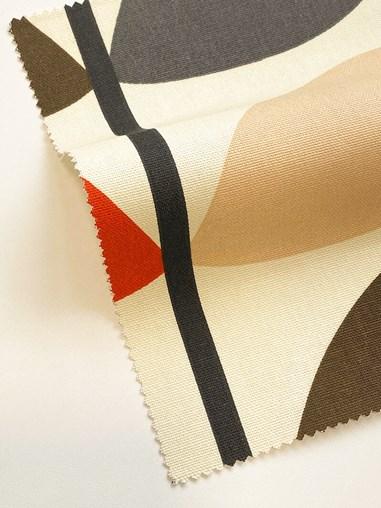 Orla Kiely Multi Stem Tomato Soft Fabric Roller Blind
