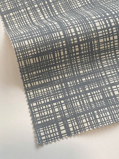 Orla Kiely Scribble Cool Grey Soft Fabric Roller Blind