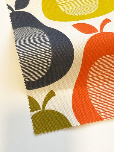 Orla Kiely Scribble Pear Multi Soft Fabric Roller Blind