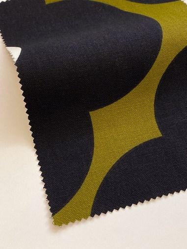 Orla Kiely Spot Flower Seagrass Soft Fabric Roller Blind