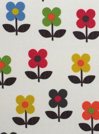 Flower Power Dim Out Floral Roller Blind