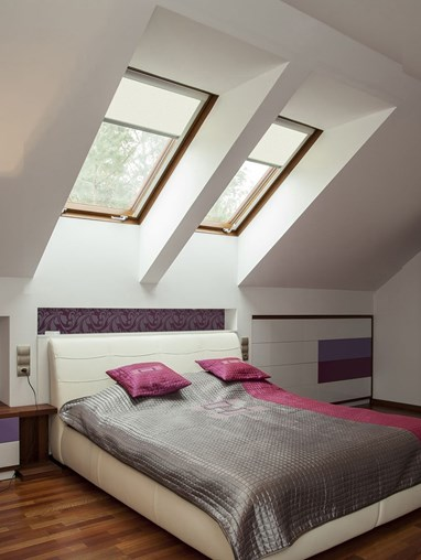 Classic Ivory Blackout Skylight Blind To Fit RoofLite Windows