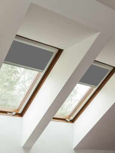 Classic Iron Mountain Blackout Blind For Velux Windows