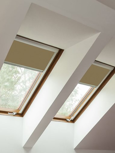 Classic Toffee Crunch Blackout Blind For Velux Windows