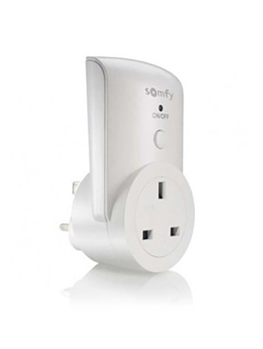 Somfy Remote Controlled Electric Socket