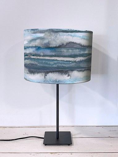 Aquarelle Denim Lampshade