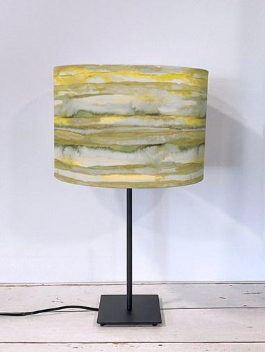Aquarelle Mustard Lampshade